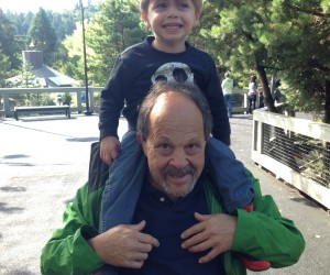 Grandpa Jack with his grandson Gray